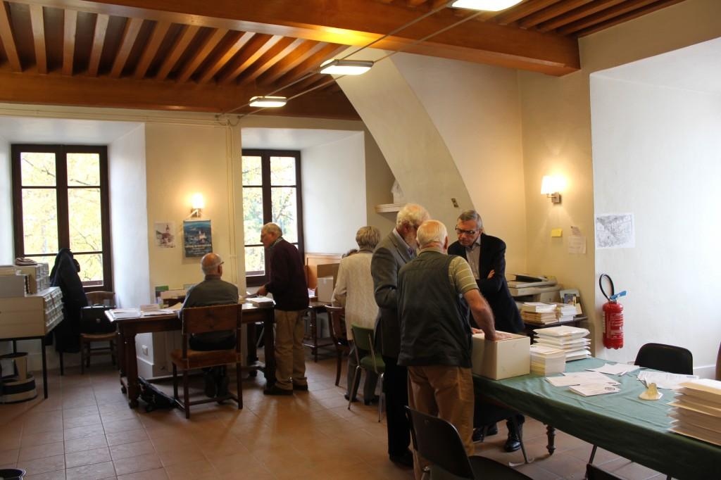 Bilbiothèque de l'Académie Florimontane