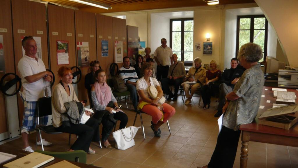 Accueil à l'Académie florimontane - Journées du patrimoine